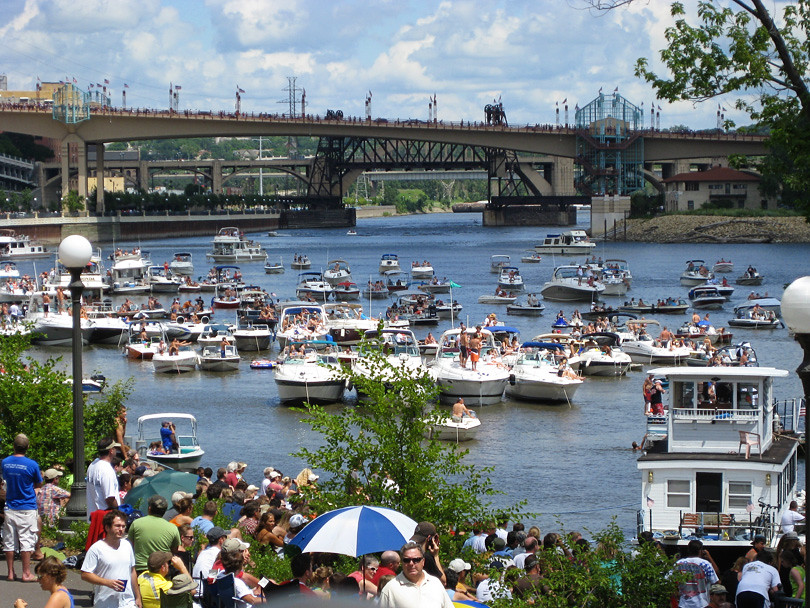 Boats at Flugtag