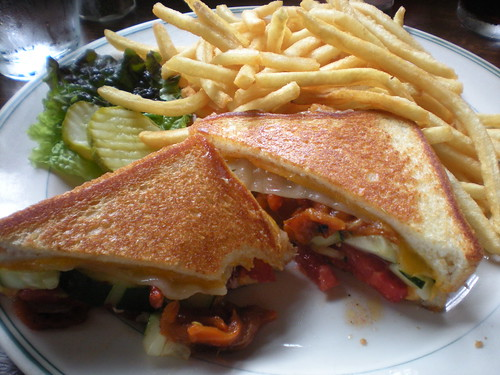 Grilled cheese delight at The Old Fashioned