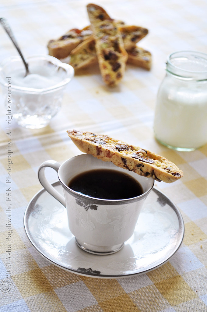 Fig, Apricot, and Nut Biscotti