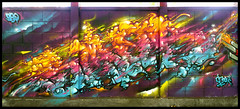By SMOKA (BBQ) (Thias (-)) Tags: terrain streetart festival wall painting graffiti mural bbq spray urbanart painter graff aerosol bombing clermont spraycanart clermontferrand smok pgc thias smoka photograff frenchgraff transurbaines photograffcollectif