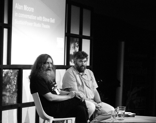 Edinburgh International Book Festival 2010 - Alan Moore and Steve Bell