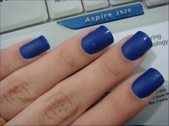 Lapis Lazuli - Risqué (Lelê Breveglieri) Tags: azul risque unha esmalte lapislazuli joiasmisticas