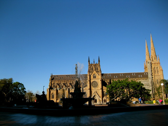 catholic cathedral, sydney
