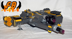 Tironium Eagle Back (Brick Mercenaries Custom Minifigures) Tags: amazing lego mini creation figure custom armory minifigure moc brickarms brickforge