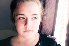 Distant dreamer (mluthersdottir) Tags: girl beauty eos icelandic stelpa 450d