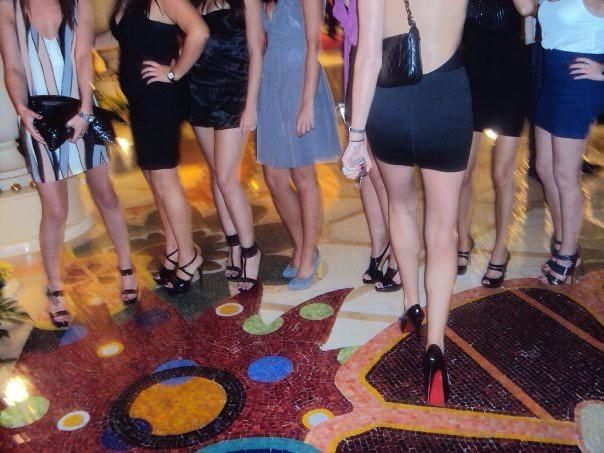 Foot fetish group