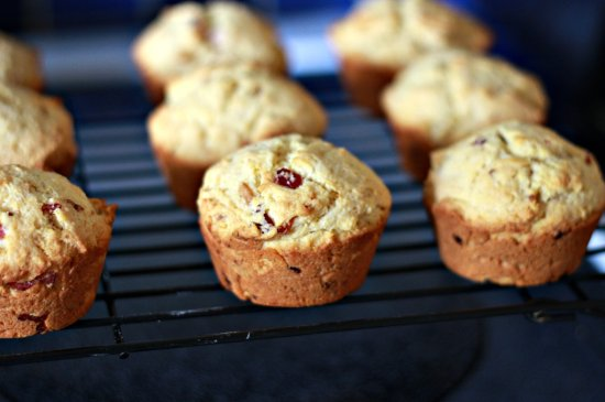 Corn & Bacon Muffins