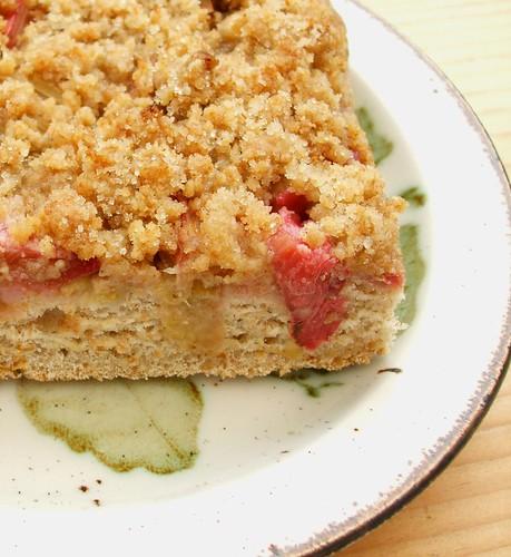 Rhubarb Sourdough Kuchen