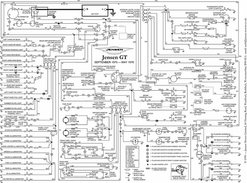 jensen gt wiring diagram a photo on flickriver rh flickriver com jensen vx7020 wiring diagram jensen healey wiring diagram