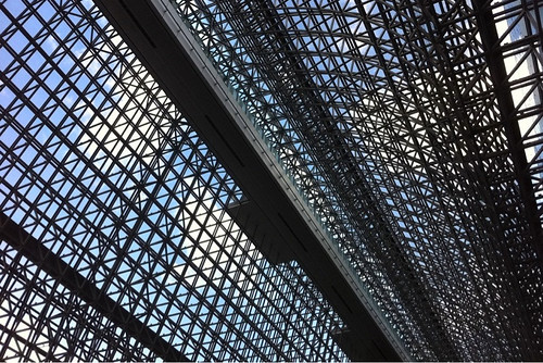 京都駅 伊勢丹 英國屋からの眺め
