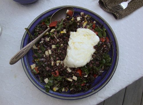 Black Barley Salad