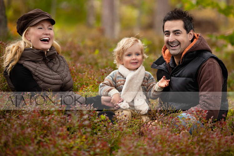 forest portrait family perhe kuva