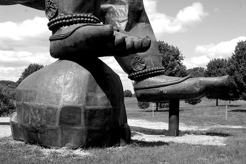 Three Legged Buddha - Detail