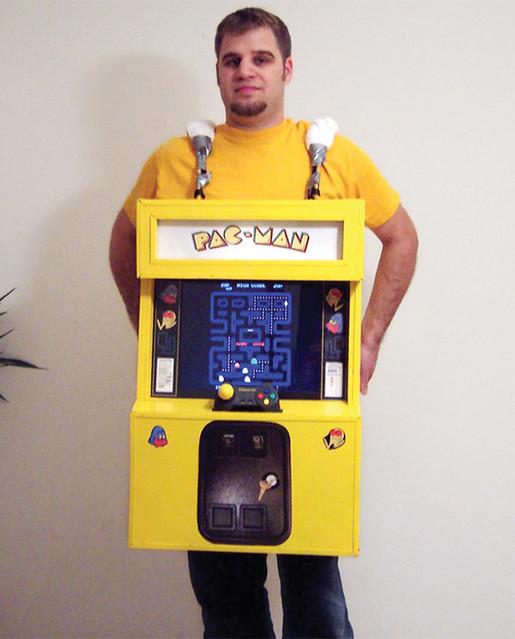 Pacman disfraz