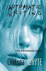 automatic writing (friendlydrag0n) Tags: blue portrait woman black eye film girl beautiful face writing paper book perception pretty erotic grain lips paperback jacket cover automatic faux novel lovely psychic imaginary sleeve esp extra wrapper charged unwritten spiritualism emotionally spiritualist sensory chelseawhite