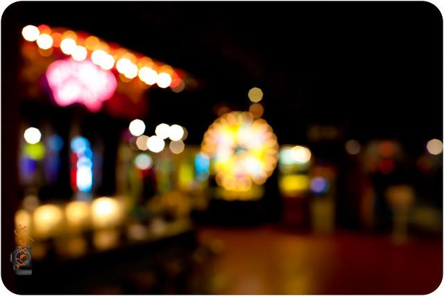 Arcade Bokeh