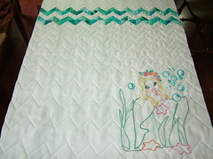 Mermaid quilted 9-10