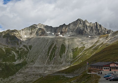 Mountain on the Passo Della Novena (Alastair Cummins) Tags: mountains alps switzerland rocks pass della passo novena nerfenen