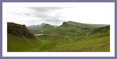 South Trotternish Ridge (Mac ind g) Tags: summer sky panorama holiday walking landscape scotland framed cleat trotternish thequiraing biodabuidhe cnocamheirlich