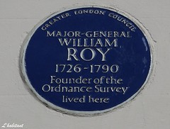 Major General William Roy in Argyle Street (L'habitant) Tags: london westminster dslr w1 argylestreet img4846 williamroy 100831 ossurvey
