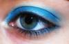 giocando con Zoeva! (Lù *) Tags: blue portrait selfportrait self eyes nikon makeup autoritratto azzurro ritratto occhio por d60 trucco