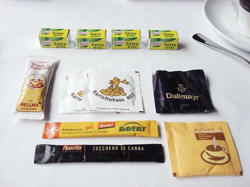Zuckersäckchen, Zuckertüten und Fette Brühe