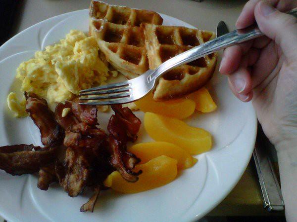 Waffles again!