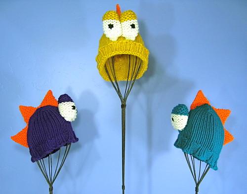 Dino hats!