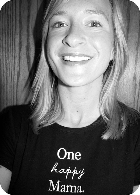 One Happy Mama b&w 1