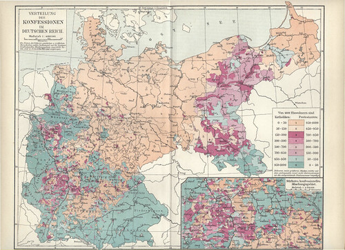 1893 Germany: Protestants and Catholics