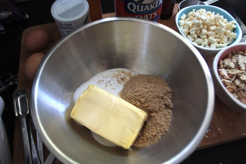 butter sugar creaming