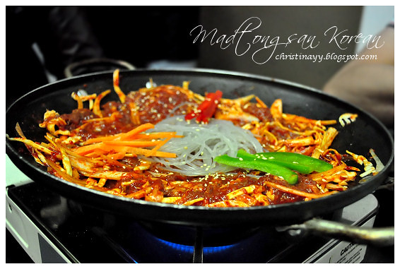 Madtongsan Korean Cuisine: Spicy Beef Bulgogi