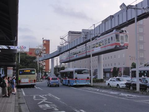 大船の湘南モノレール