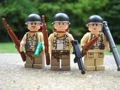 Amercan Allies ([funkymân]) Tags: world 2 war lego wwii american allies brickarms