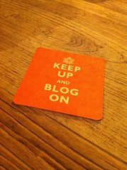 Keep up and blog on by futureshape, on Flickr