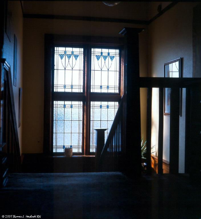 Stairway Window, Castlewood