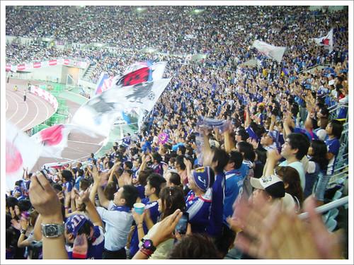 観衆の熱狂@日本代表 VS グアテマラ代表_201009
