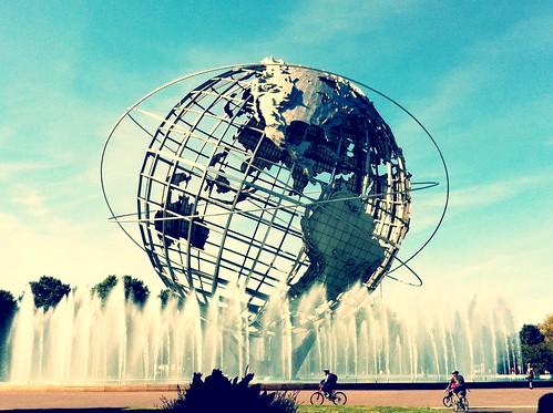 フリー写真素材, 芸術・アート, オブジェ・モニュメント, アメリカ合衆国, ニューヨーク, 地球,