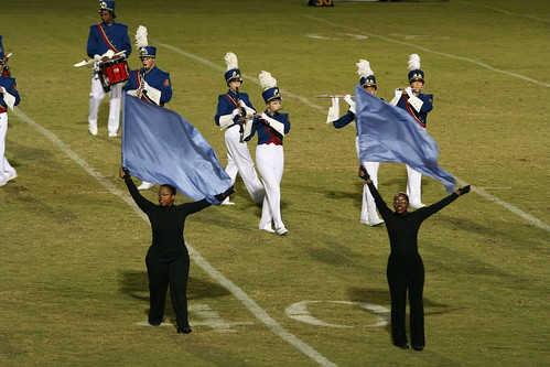9/10/10 - G-F Marching Band halftime