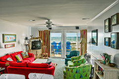 A Clear View Interior (Brons Photography) Tags: ocean house water architecture nc nikon furniture interior northcarolina atlantic outerbanks atlanticocean emeraldisle hdr highdynamicrange beachhouse d90 photomatix hdrphotography nikond90 interiorhdr aclearview