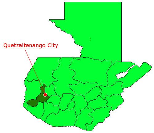 Quetzaltenango Map