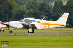G-BAHS - 28R-7335017 - Private - Piper PA-28 R-200 Cherokee Arrow II - Duxford - 100905 - Steven Gray - IMG_8975