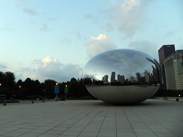 Sunrise at the Cloud Gate