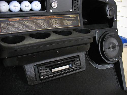 Custom Speaker Pods for EZ Go