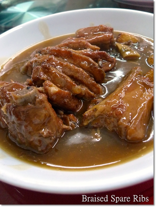 Braised Spare Ribs