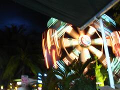Long Exposure of D'Mall Ferris Wheel