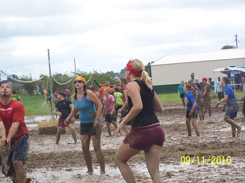 Mud volleyball 9/11/10