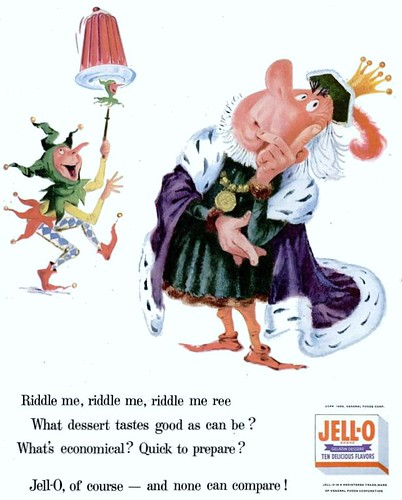 Jell-O Riddle Life April 9 1956