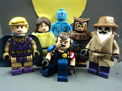 Watchmen (billbobful) Tags: lego graphic manhattan dr silk rorschach owl comedian novel watchmen nite spectre ozymandias