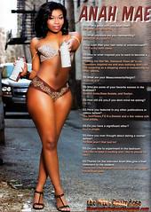 Anah Mae Straight Stuntin Magazine pictures